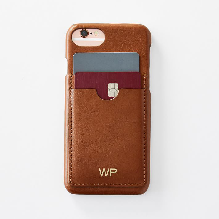 Leather iPhone 7/7 Plus Wallet Case