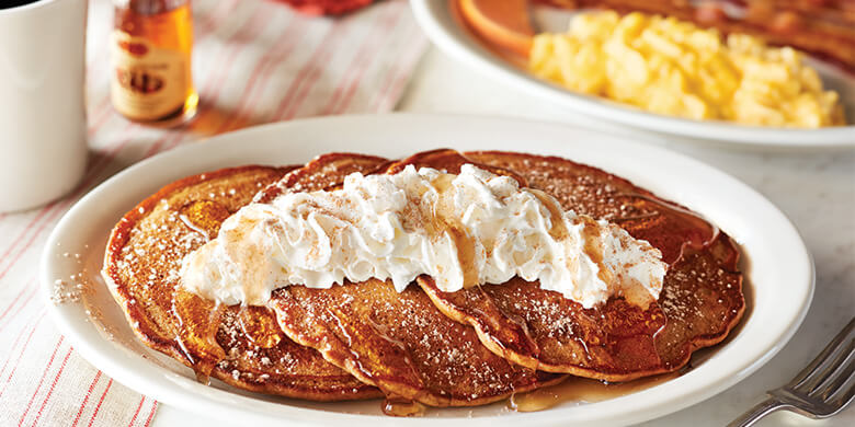 Cracker Barrel Pumpkin Pancakes