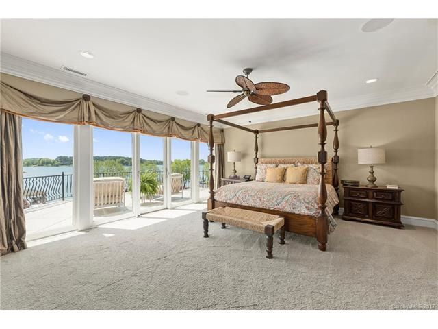A Master bedroom fit for a NASCAR champ