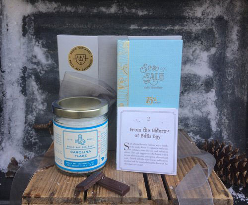 Sea and Salt Chocolate Bar Gift Set