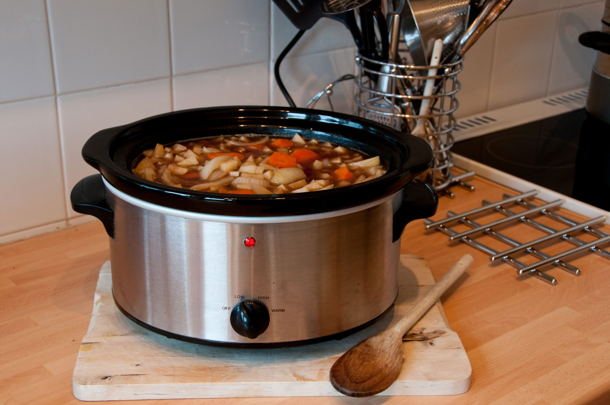 how to make stock slow cooker
