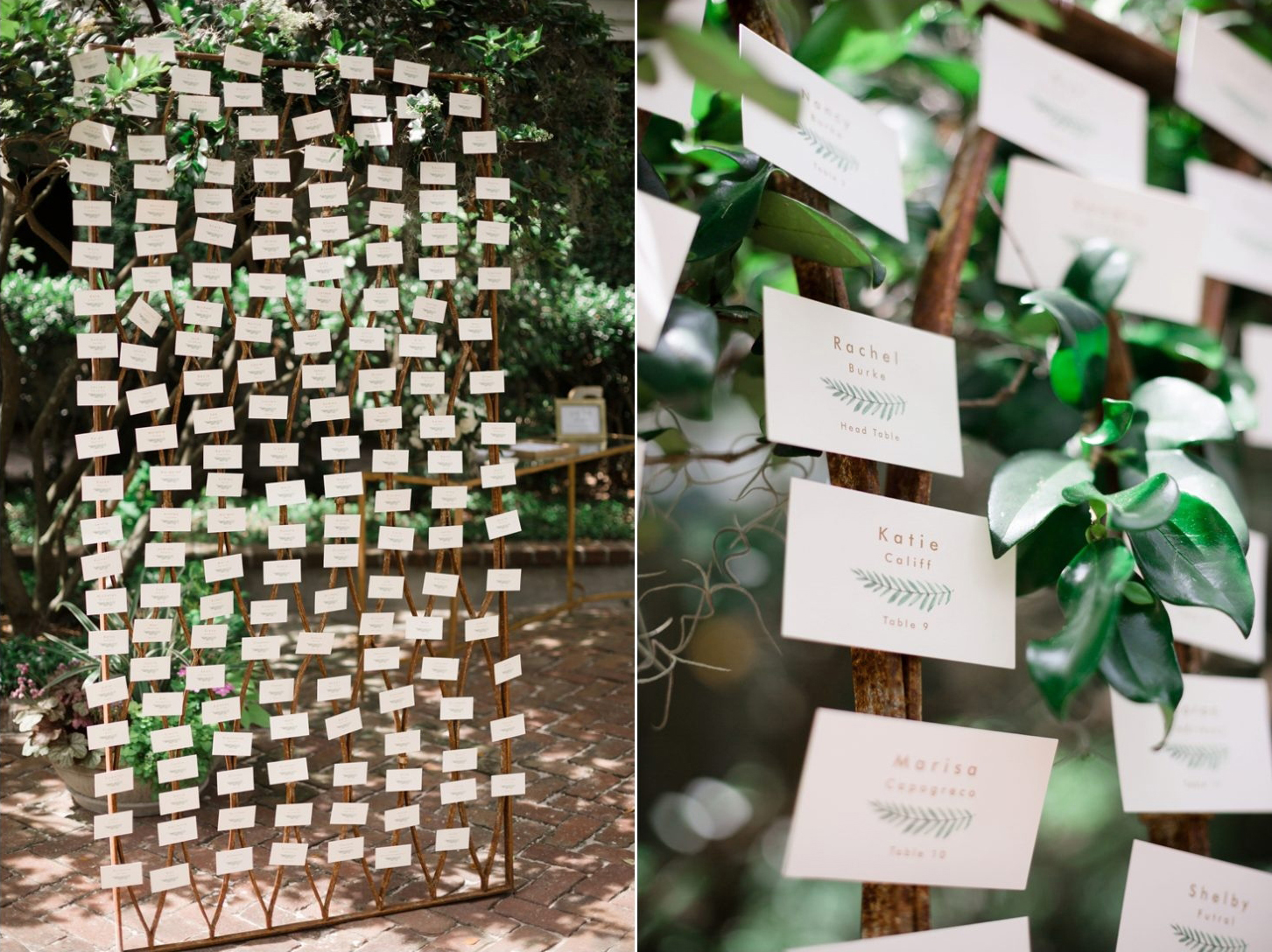 Escort Card Creativity