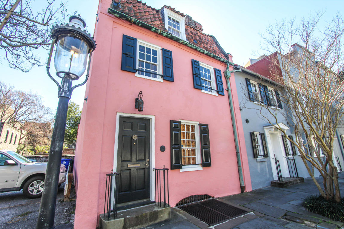 Charleston Pink House Welcome Home to The Pink House