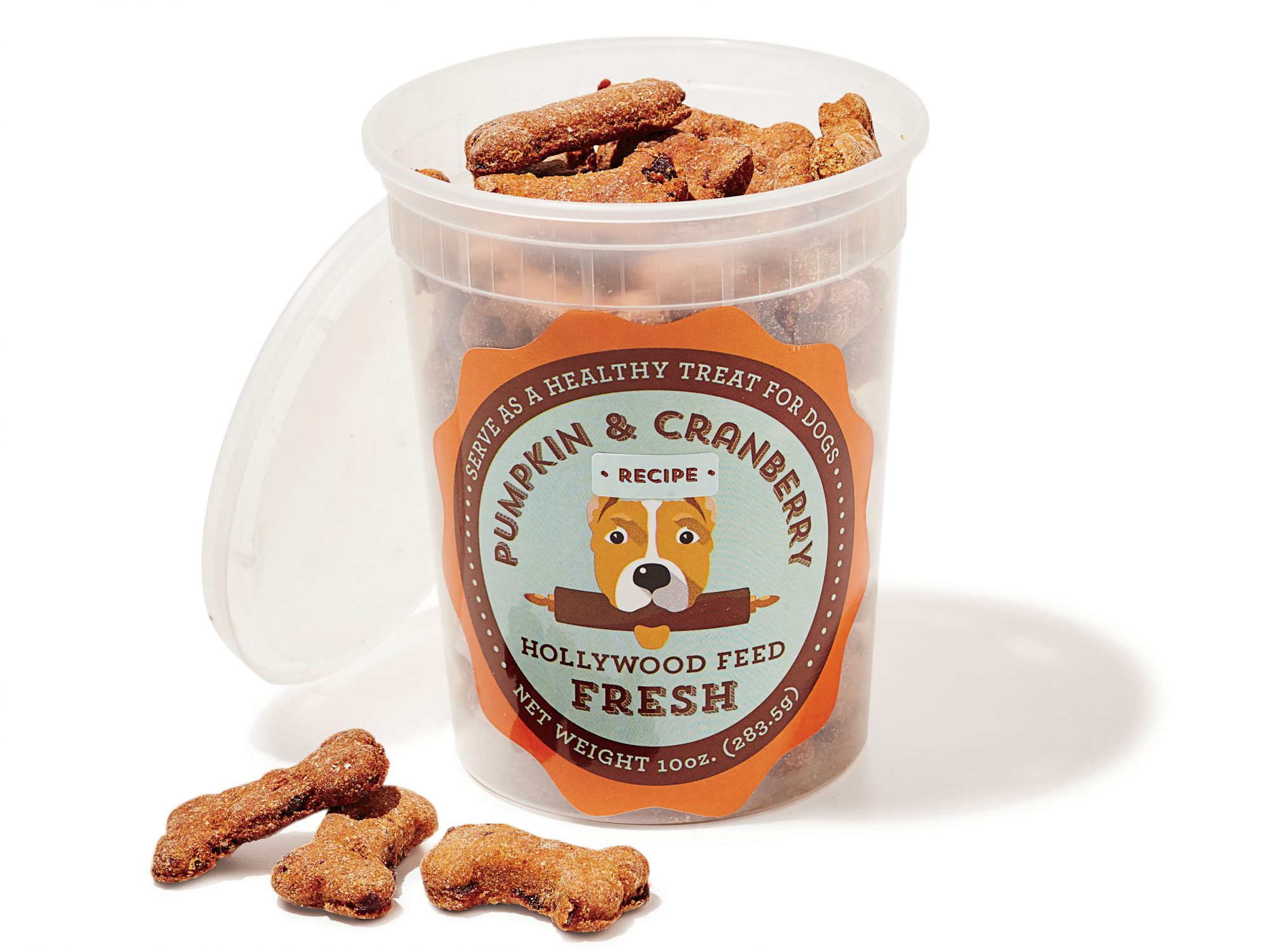 Pumpkin and Cranberry Dog Biscuits