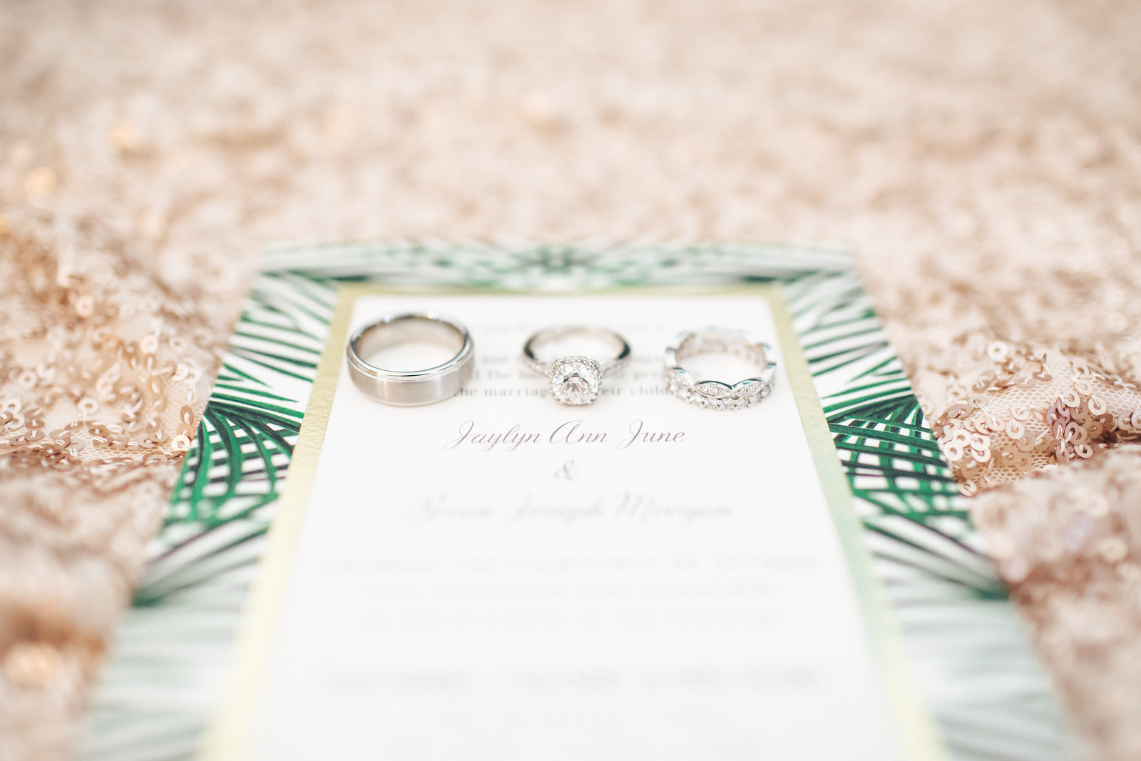 Moogan Wedding Rings