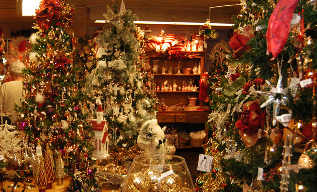 Find gifts and traditional holiday decor at Christmas Hollow, the year-round holiday shop.