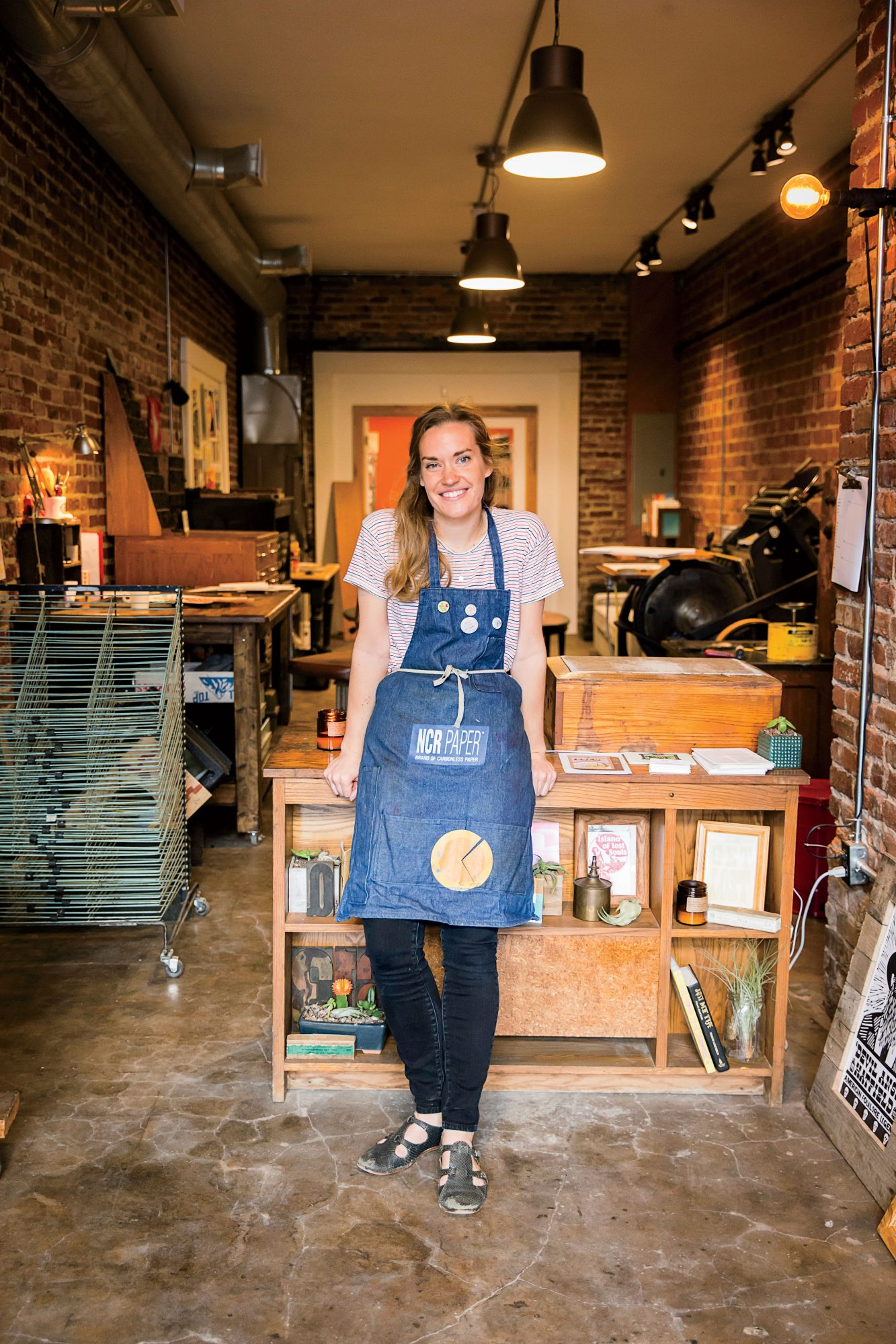 Emily Sokolosky of Base Camp Printing