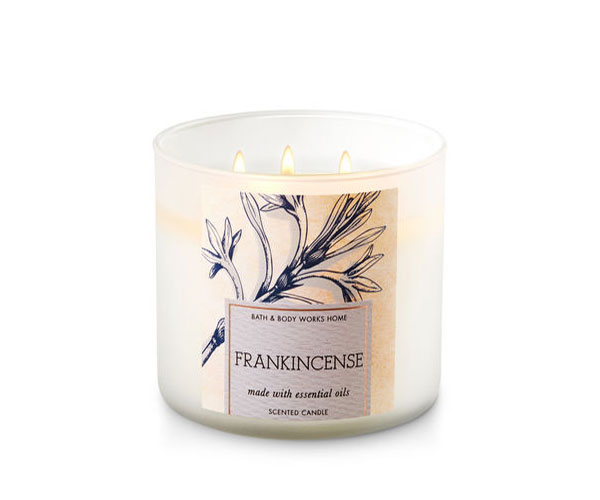 Frankincense Bath & Body Works Candle