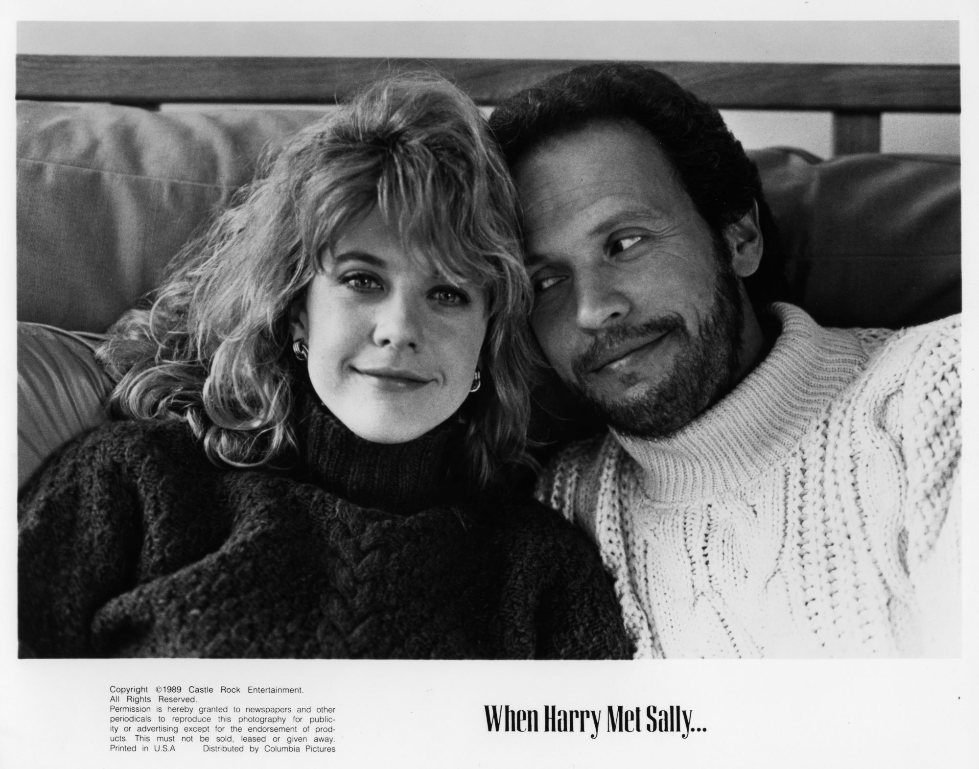 Meg Ryan in 'When Harry Met Sally'