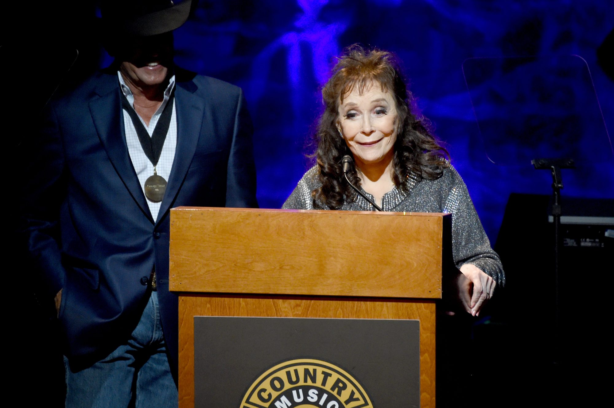Loretta Lynn and George Strait