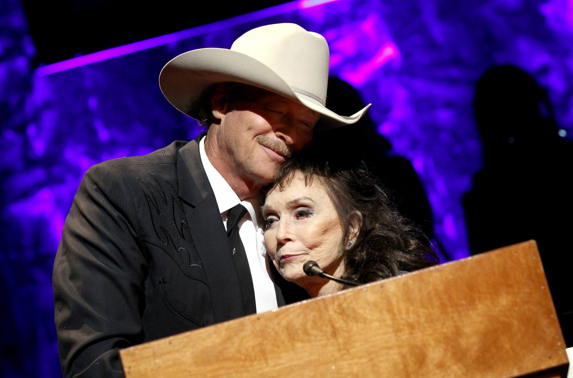 Loretta Lynn and Alan Jackson