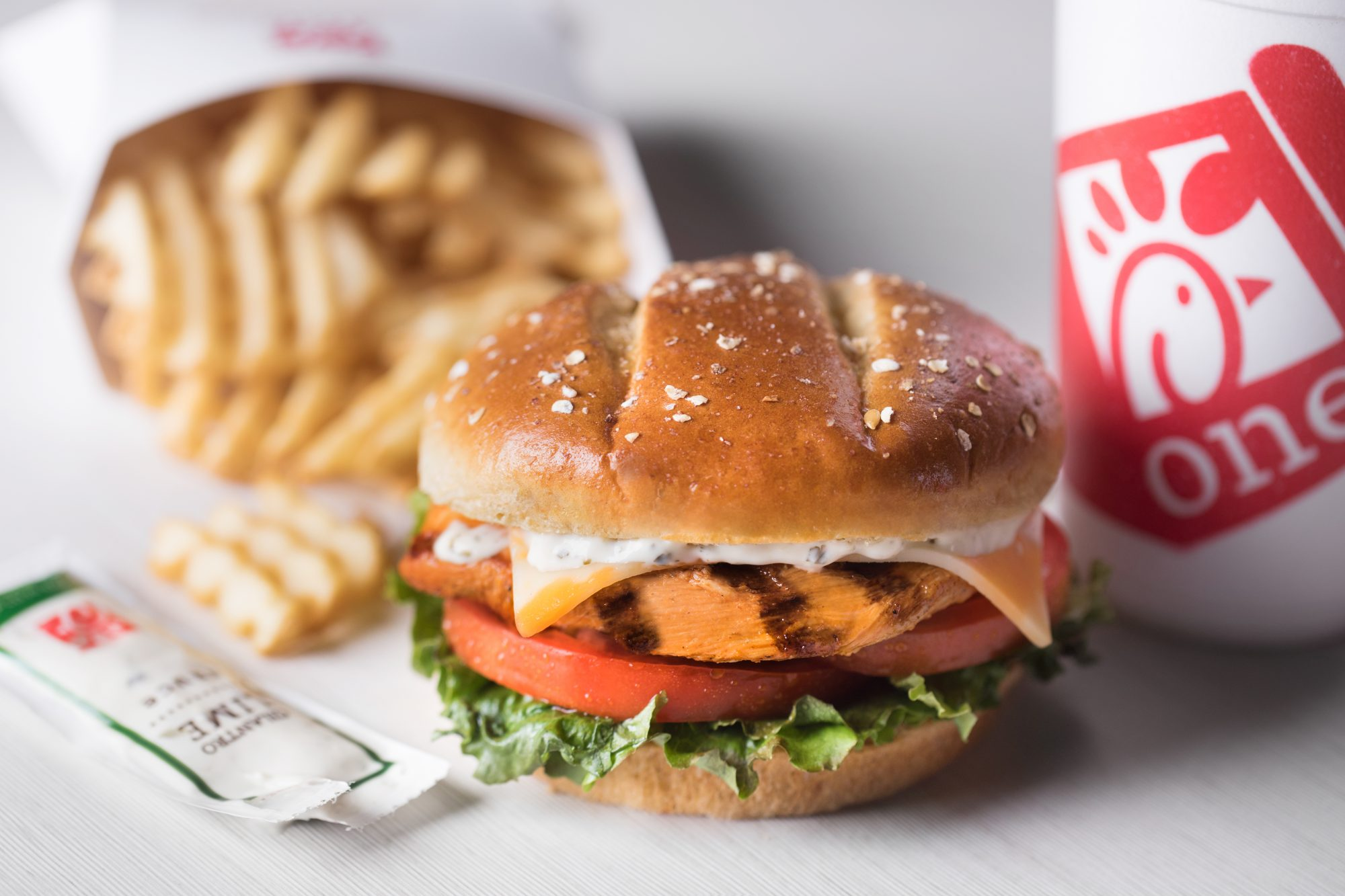 Chick-Fil-A Spicy Grilled Chicken Sandwich