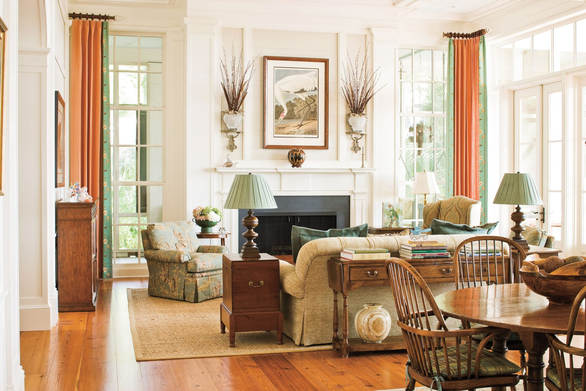 curtains decorating ideas for living rooms. Embrace Ideas from the Past 106 Living Room Decorating  Southern