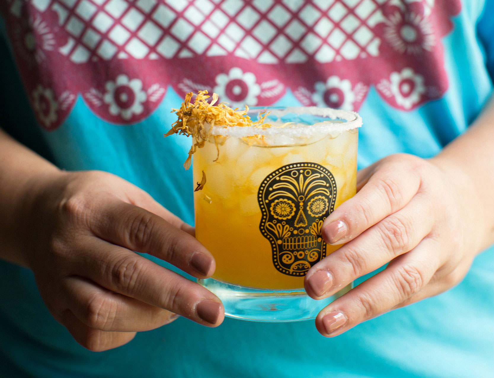 RX_1710_Day of the Dead Recipes Sweet Life_Mango Marigold Margarita