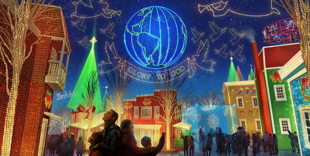 Christmas in Midtown has over 1.5 million lights and opens for the first time on November 4, 2017.