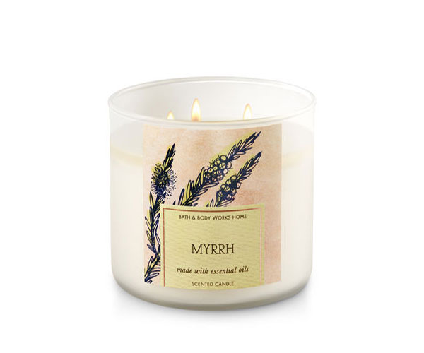 Myrrh_Bath & Body Works Candle