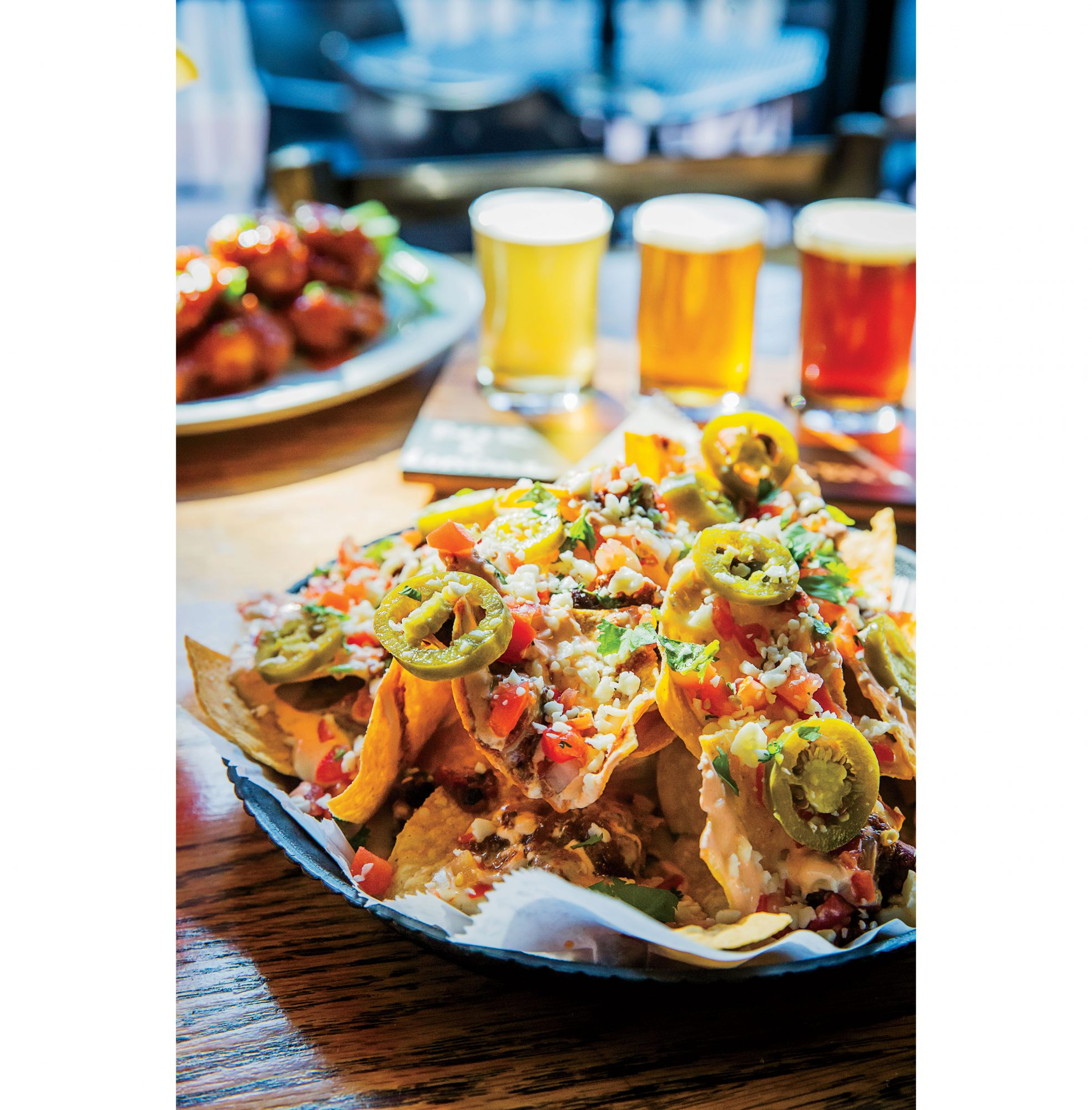 Nachos at Black Sheep Burrito & Brews