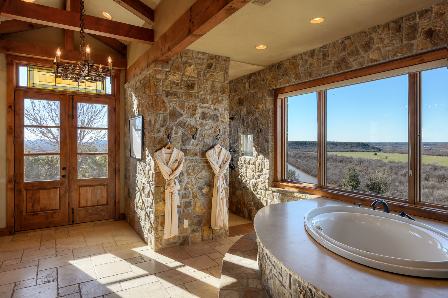 A Gorgeous Bathroom with a View