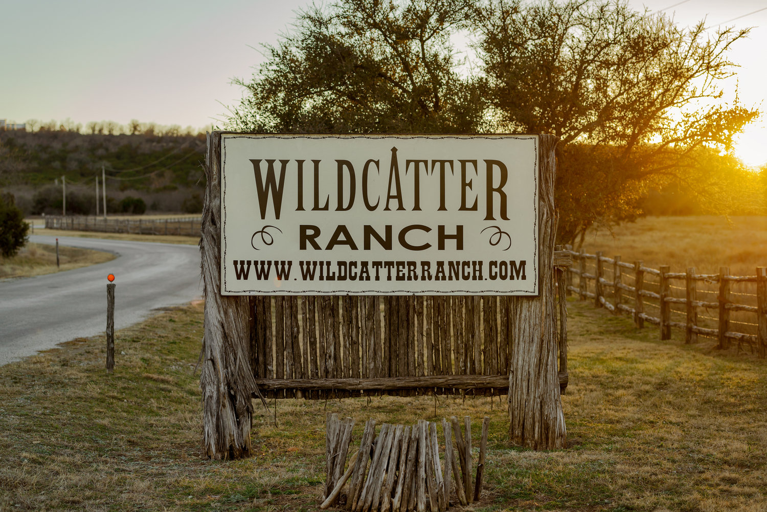 Wildcatter Ranch Sign