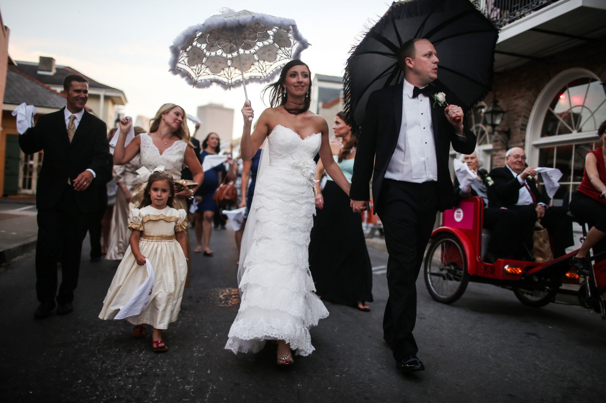 New Orleans Second Line Wedding Tradition