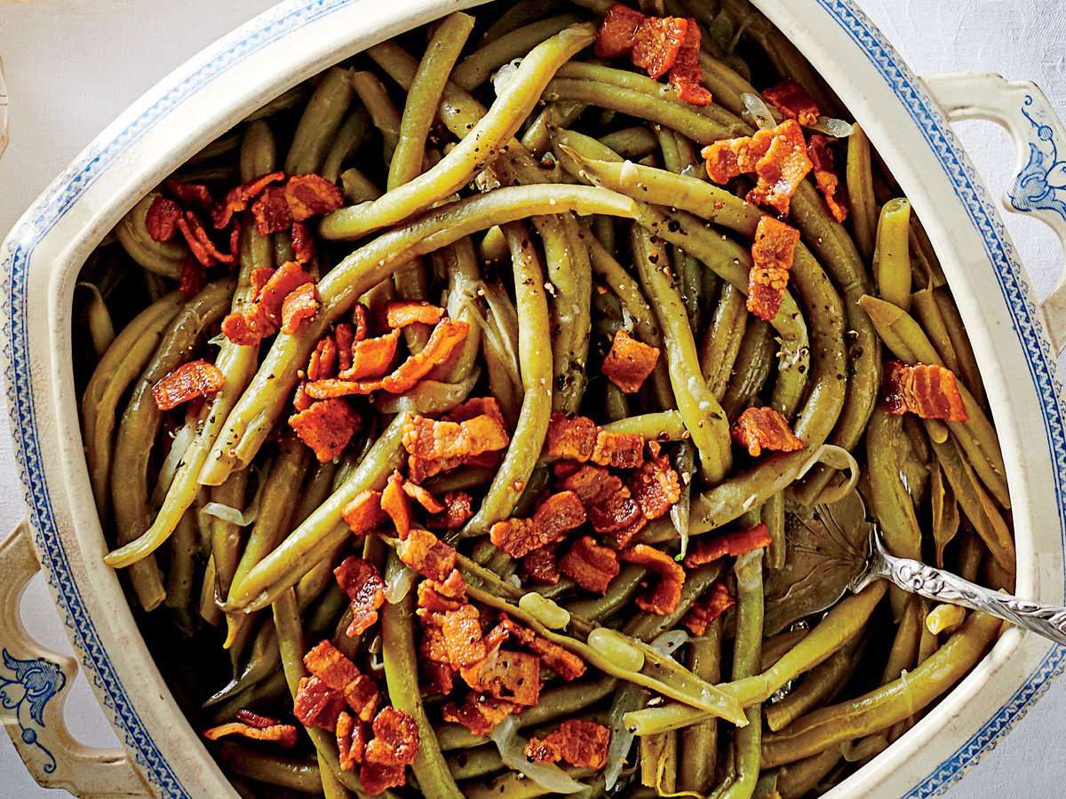 Slow-Cooker Green Beans Recipe