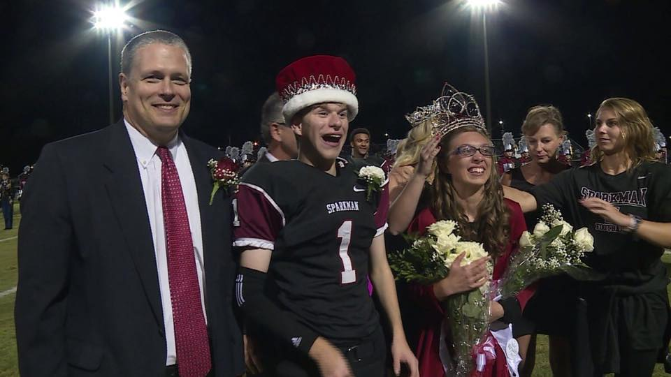 Sparkman High School Homecoming King and Queen