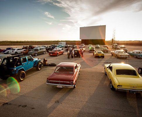 Stars and Stripes Drive-In Theaters