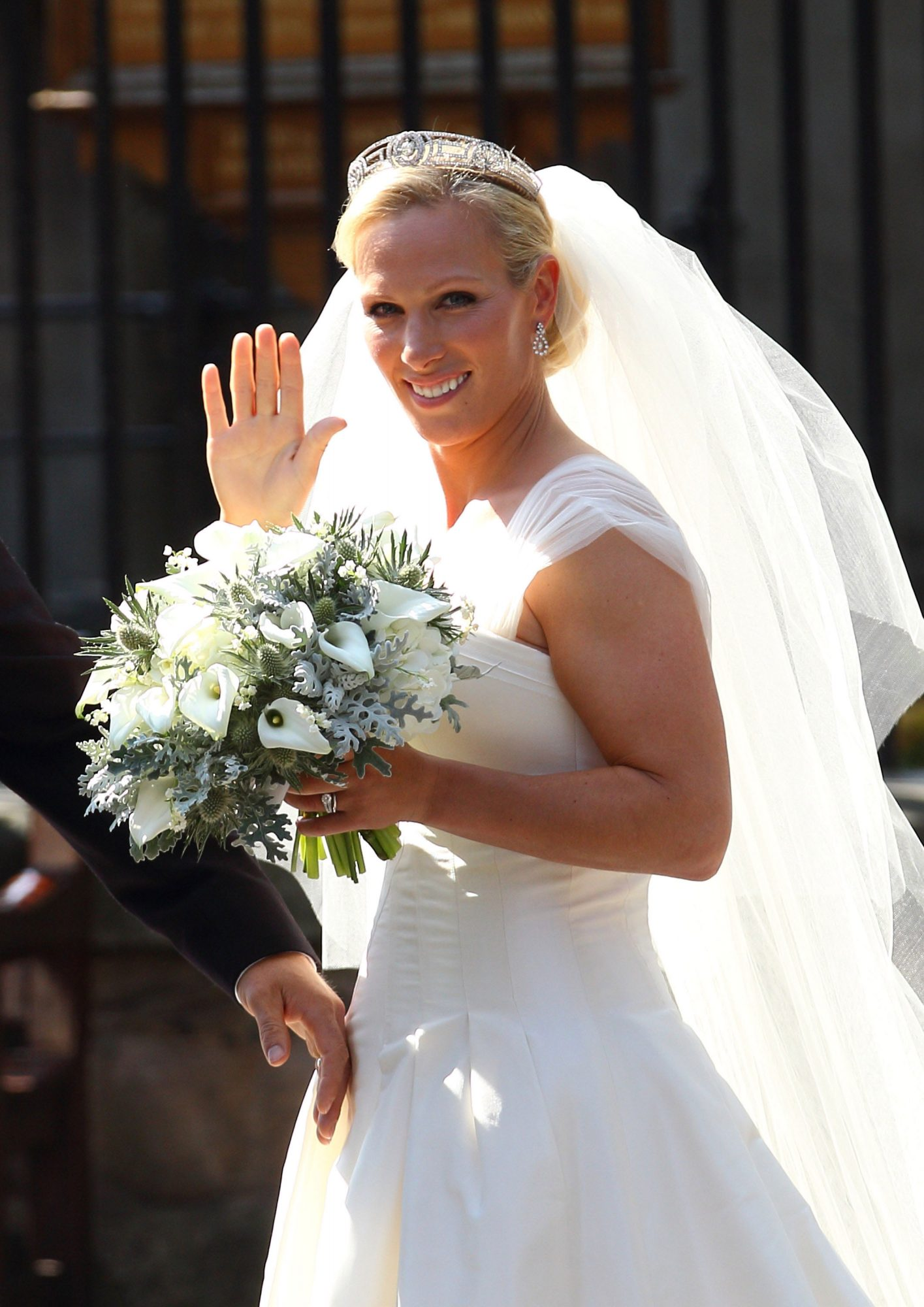Zara Phillips Wedding Bouquet