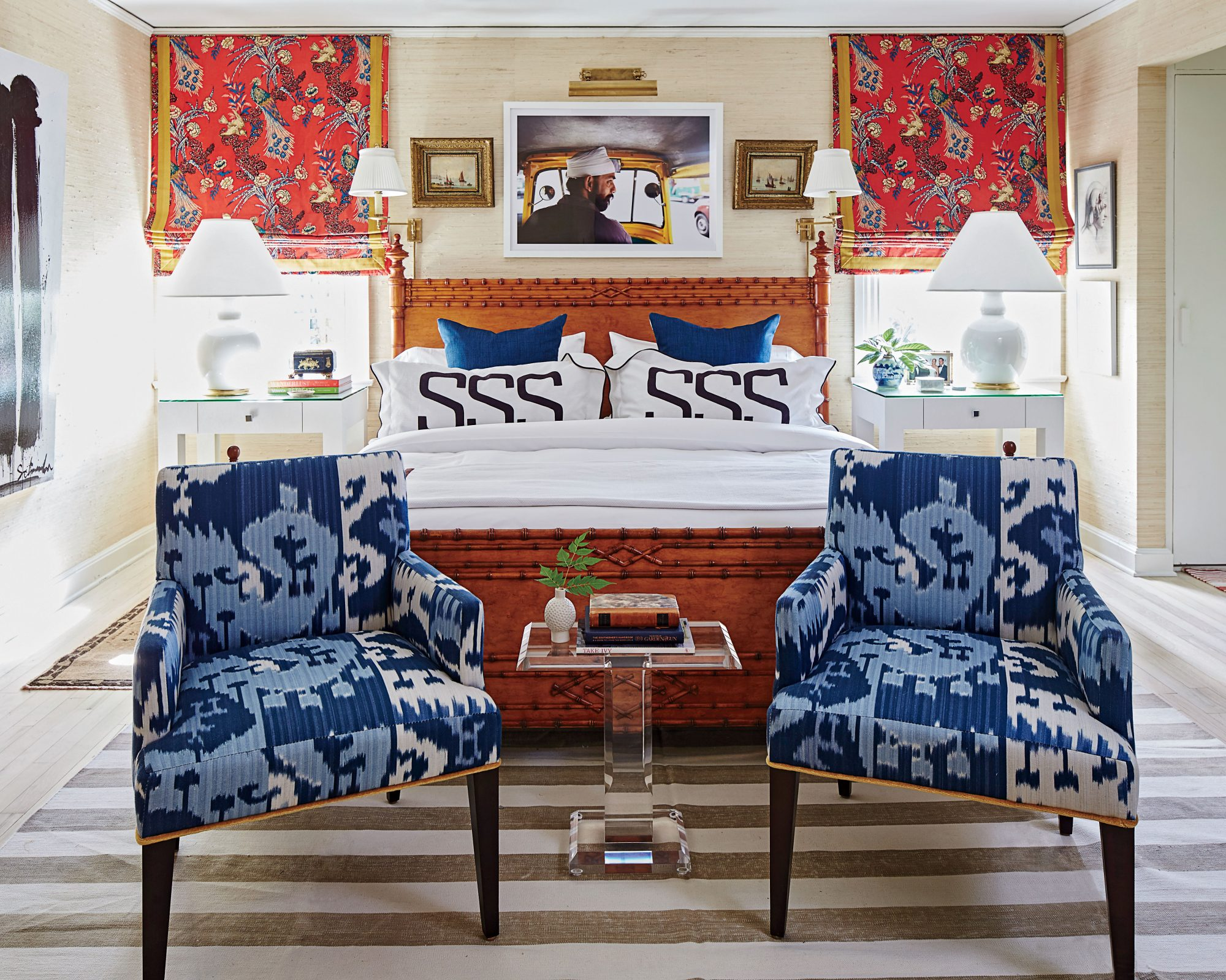 Shaun Smith New Orleans Ranch Master Bedroom