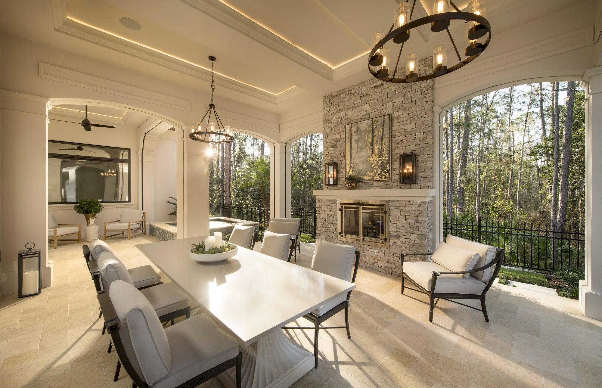 Luxuriate in Indoor-Outdoor Living