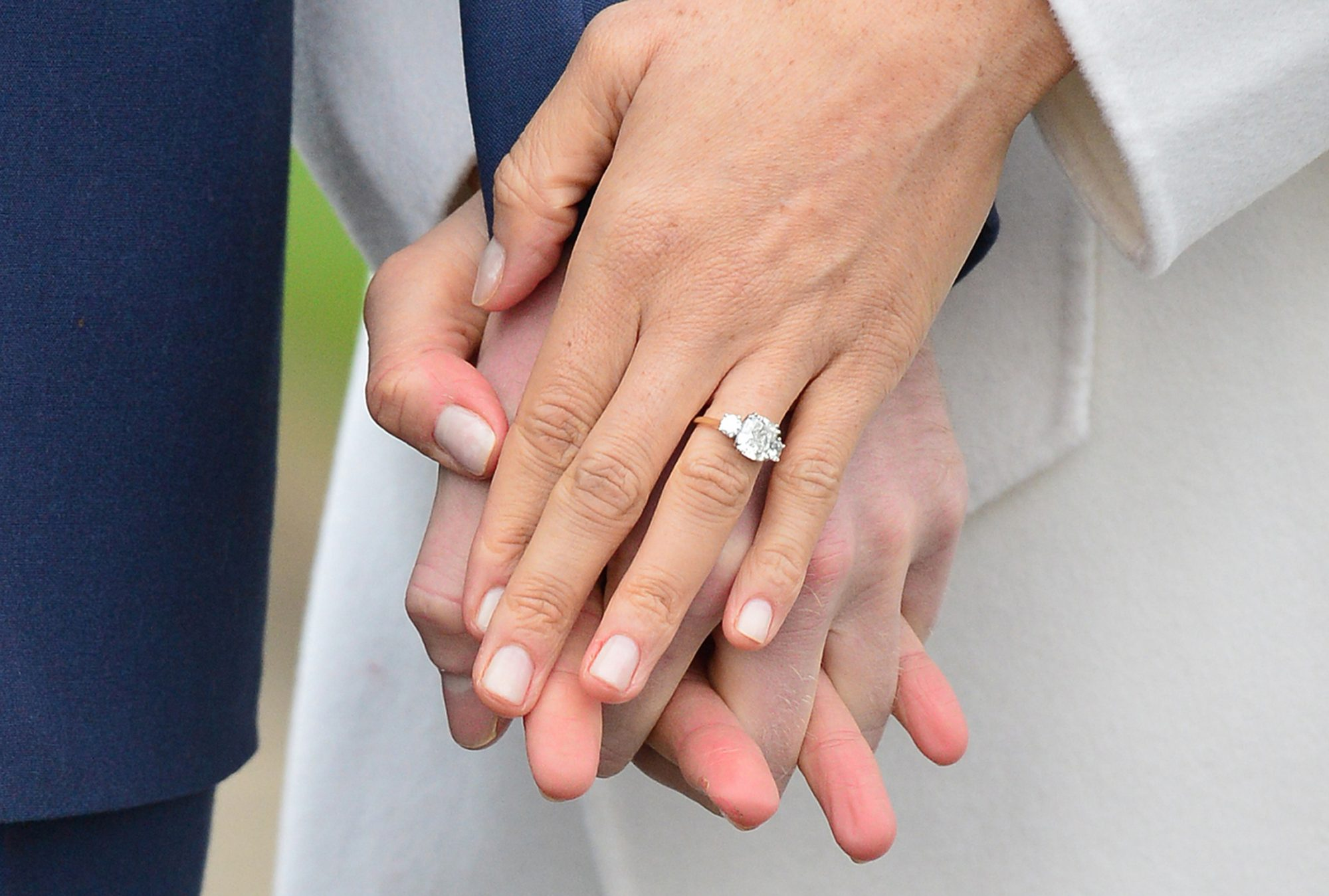 Meghan Markle Engagement Ring 2