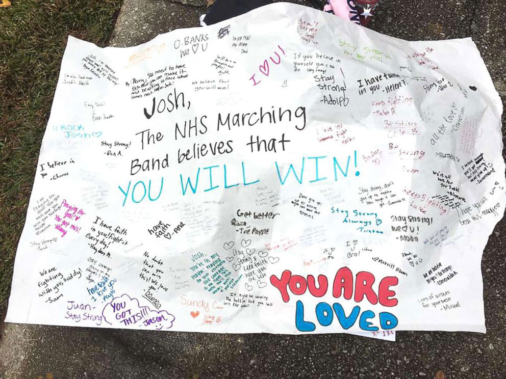 Sign Carried by Norcross Marching Band
