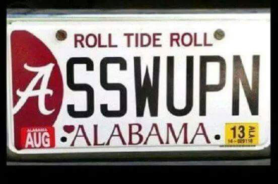 "Alabama: ""A** Whoopin'!"""