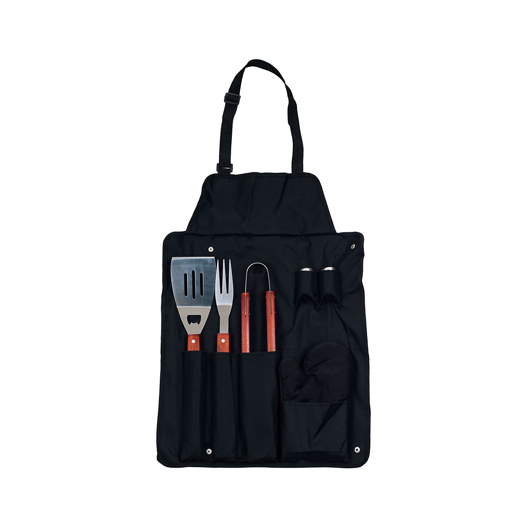 BBQ Apron and Utensil Set