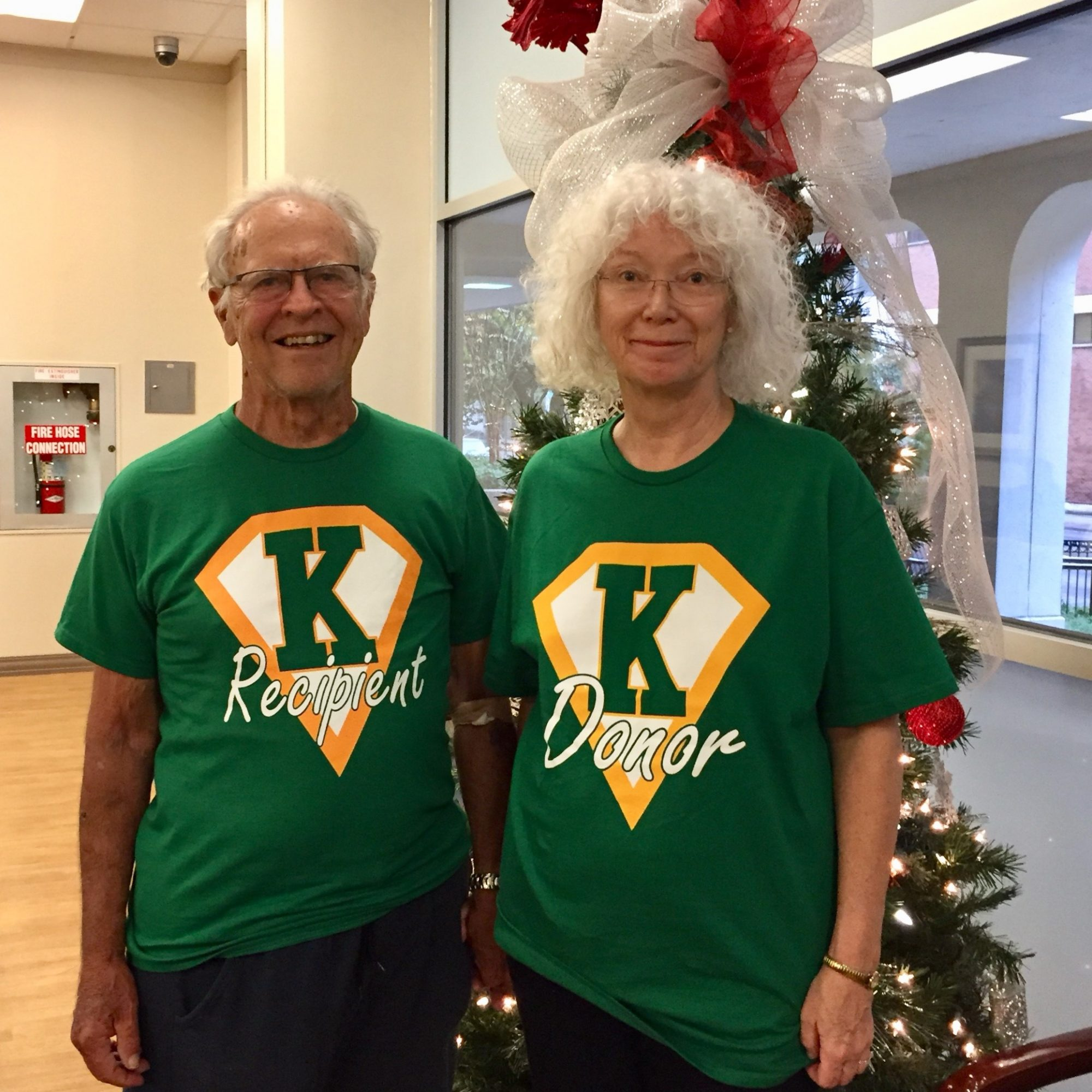 Dorothy and Bob Weis Kidney Couple