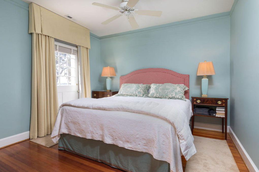 Colonial Brick Home Charleston Master Suite