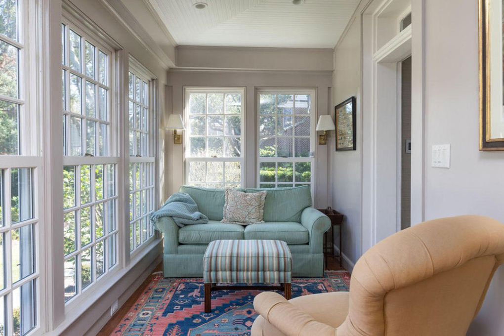 Colonial Brick Home Charleston Sunroom