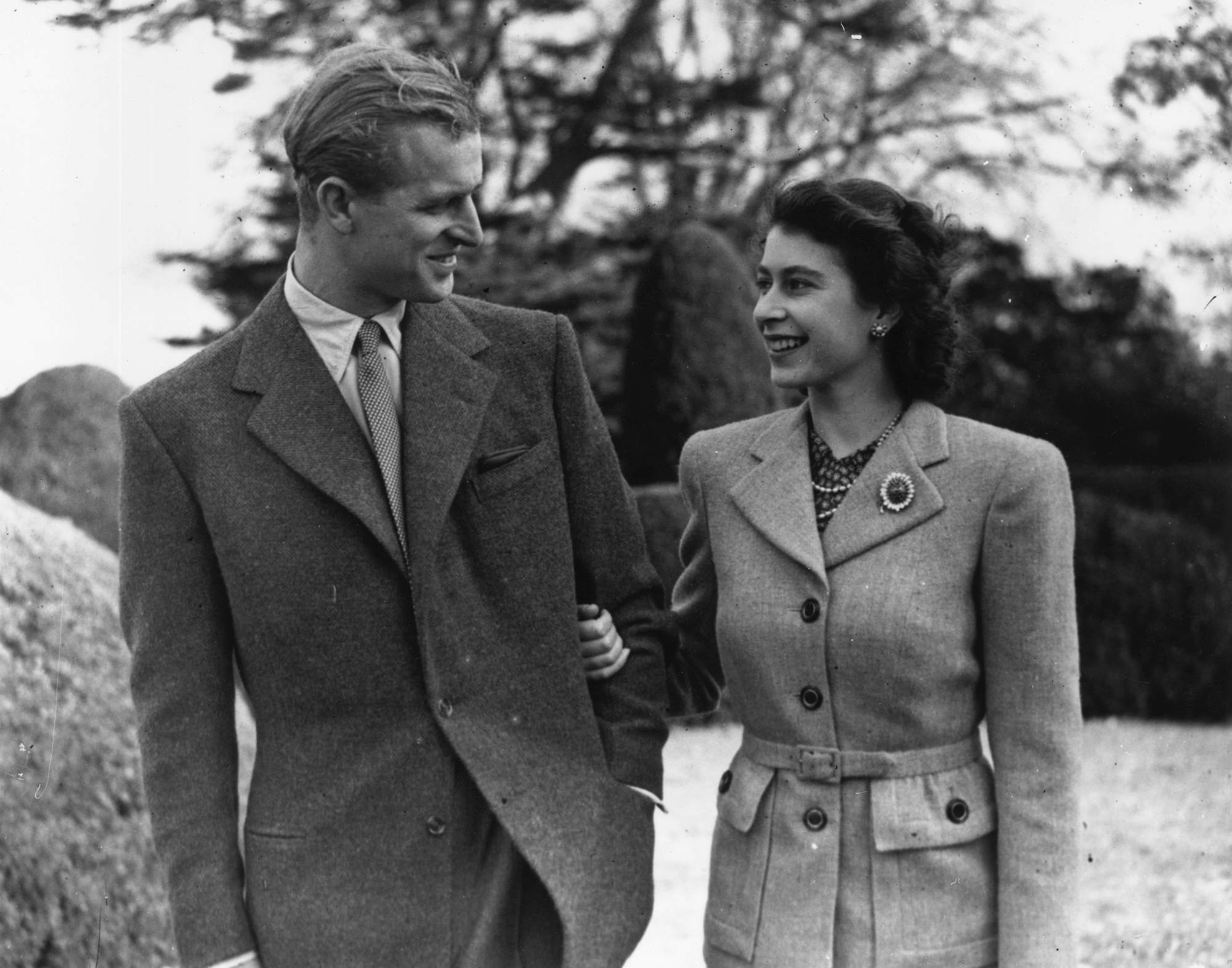 Queen Elizabeth Honeymoon Photo