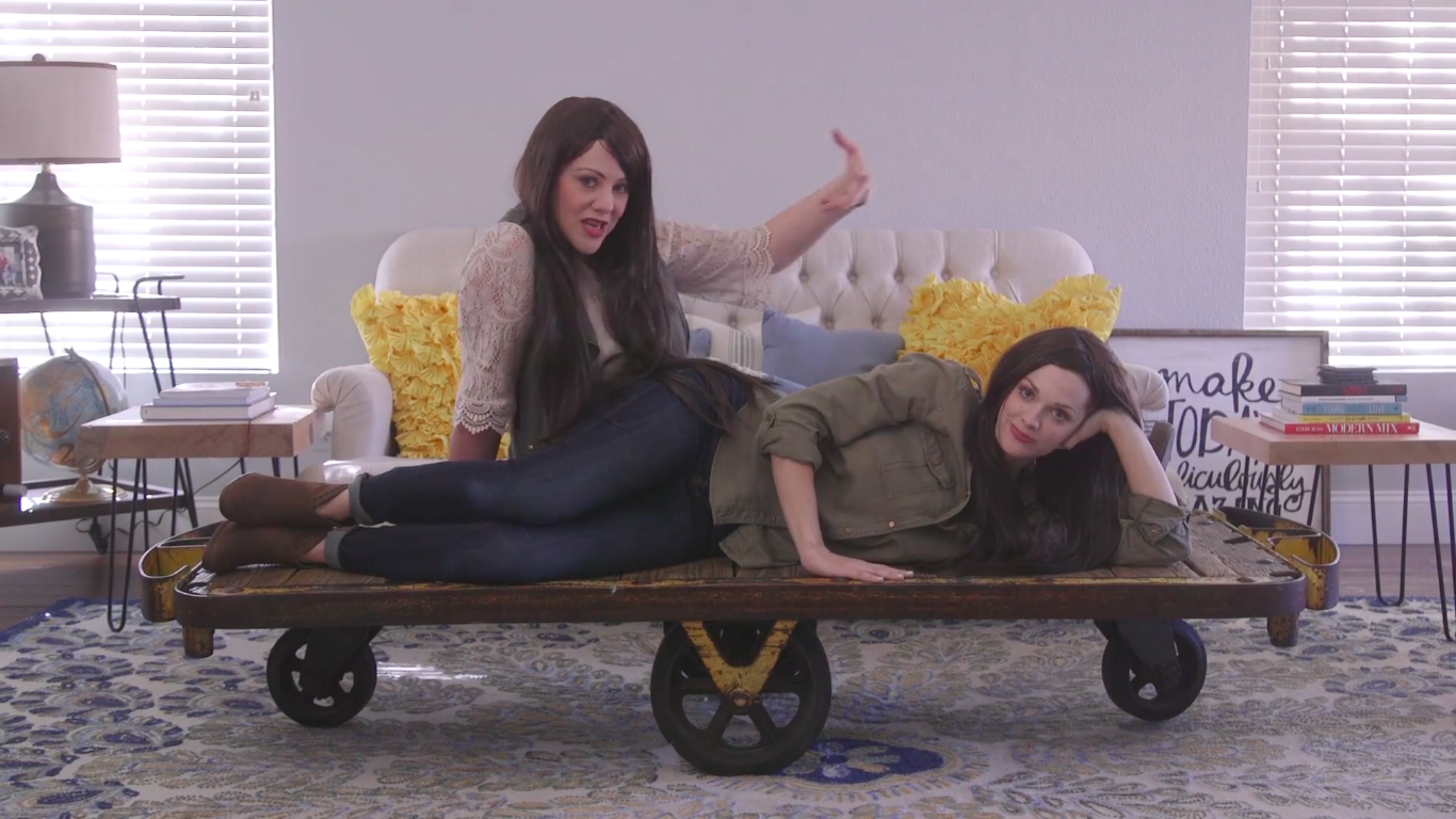 Leanne And Michelle Think They're Funny Fixer Upper Parody