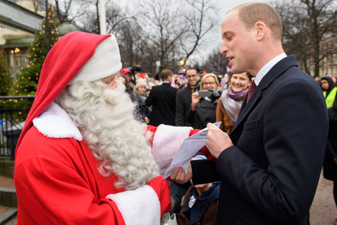 Prince George Santa Letter Hand-Delivered by Dad Prince William