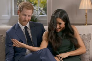 Meghan and Harry Goof Off Behind the Scenes