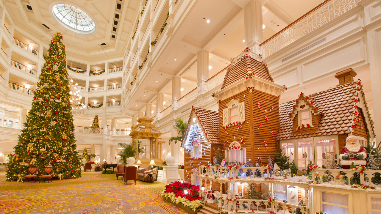 Life-Size Gingerbread House at Disney