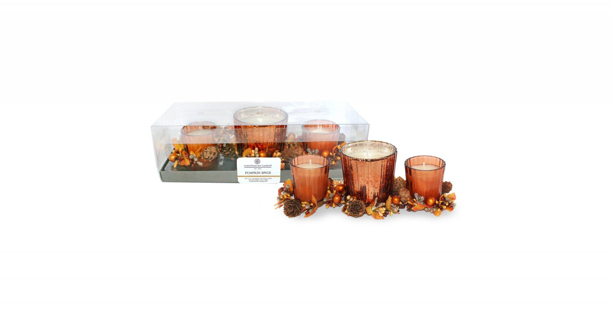 Pumpkin Spice Candle Set