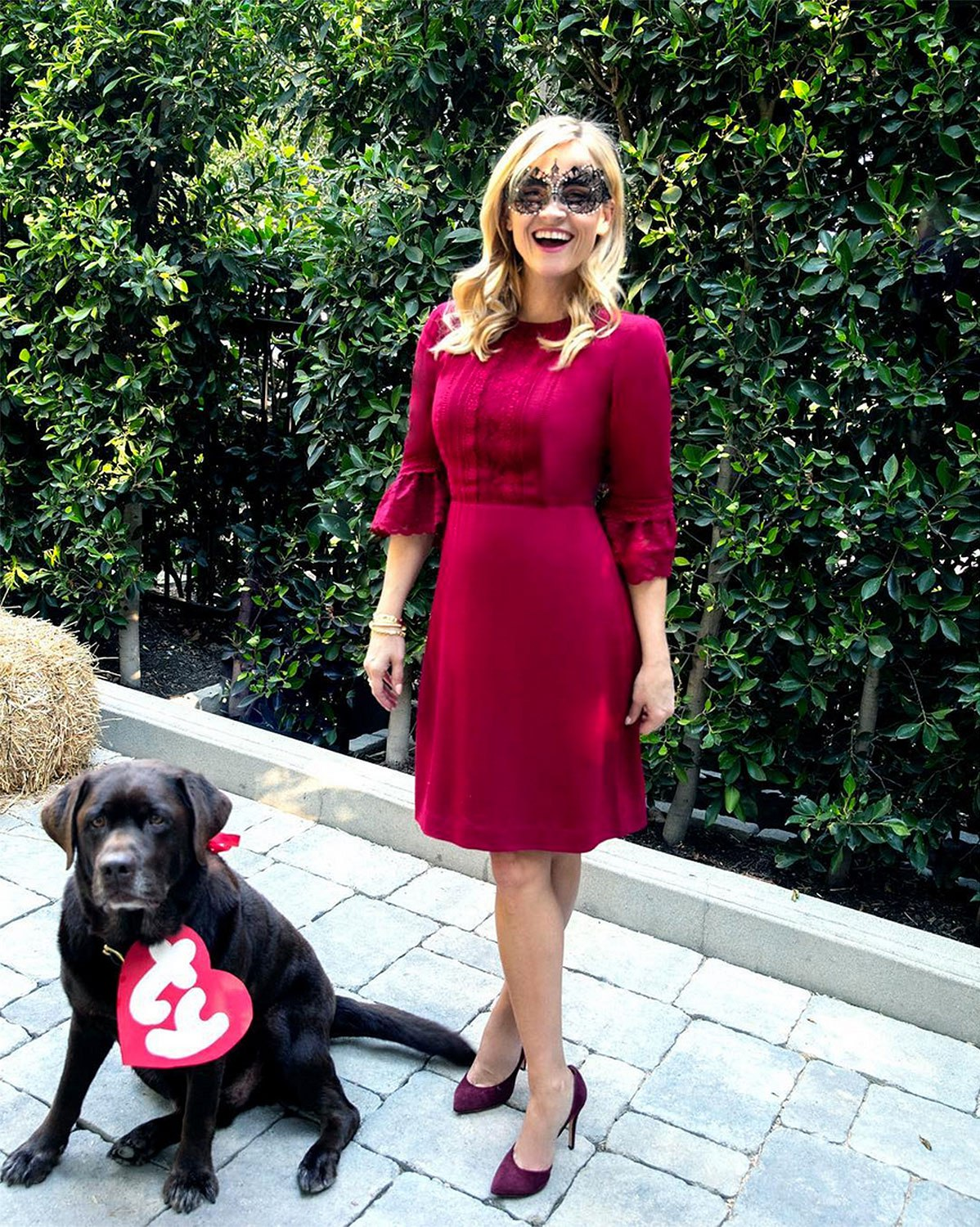 Reese Witherspoon Fall Halloween Instagram