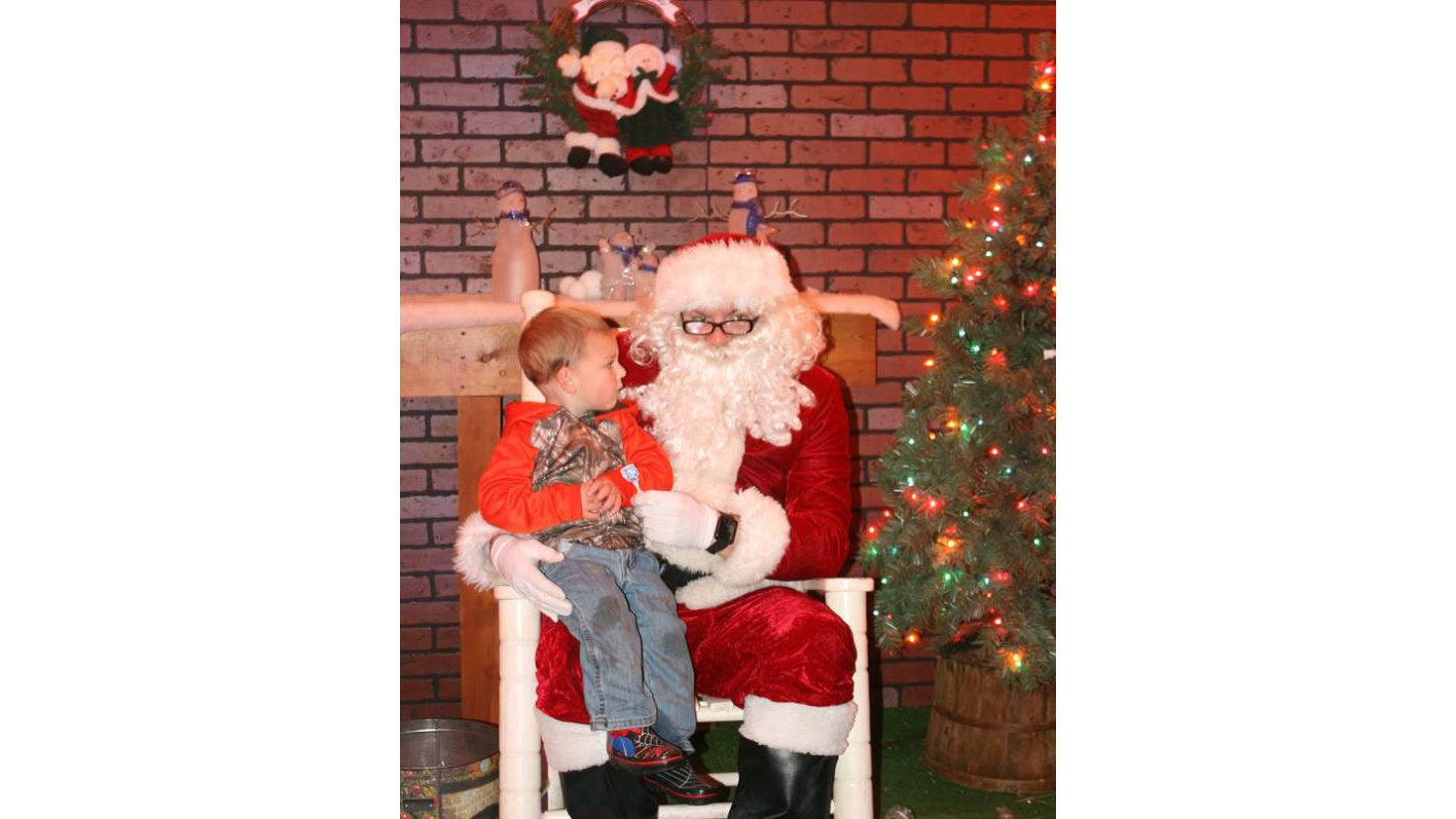 Santa in Jonesboro Louisiana