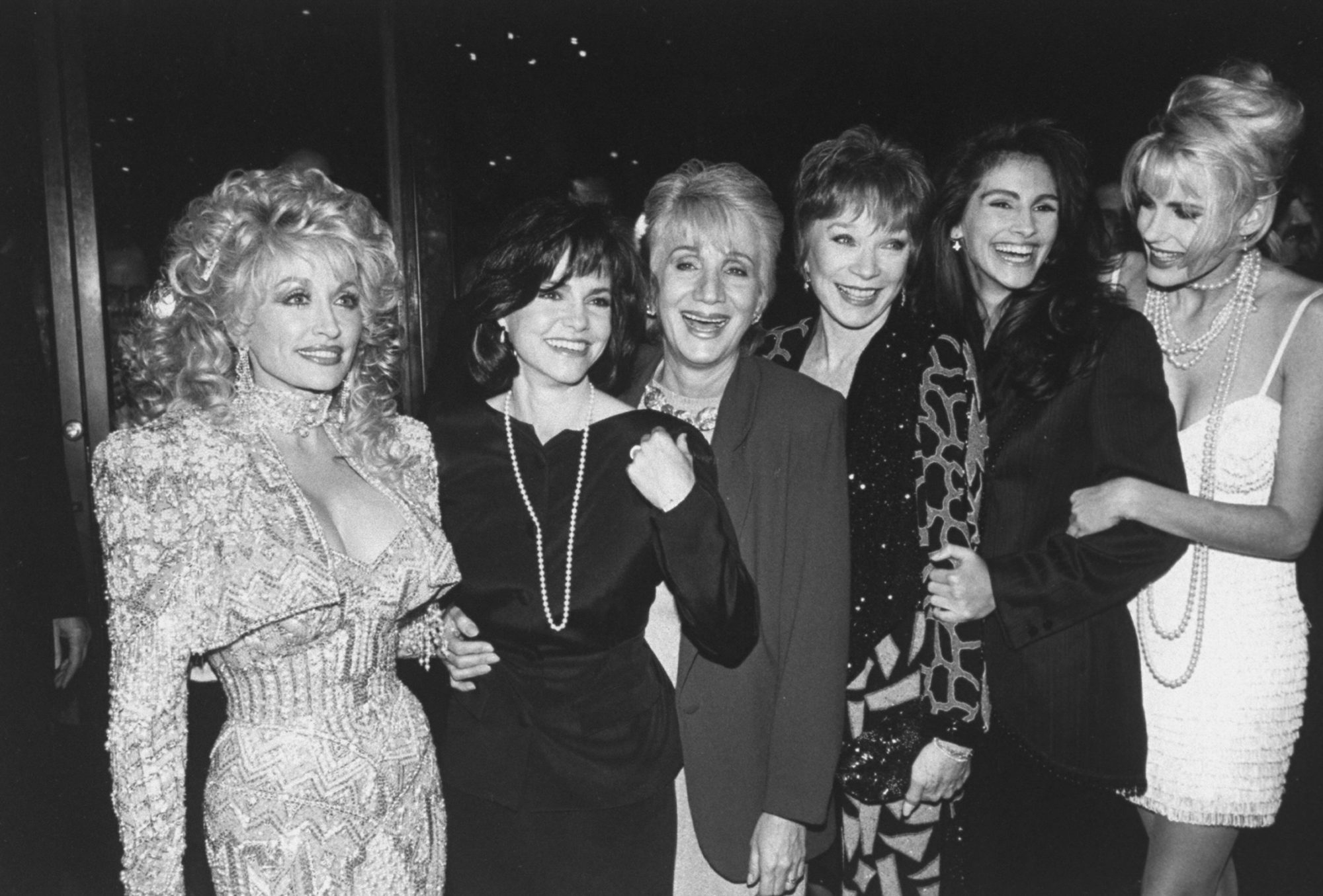 Steel Magnolias Cast at Premiere