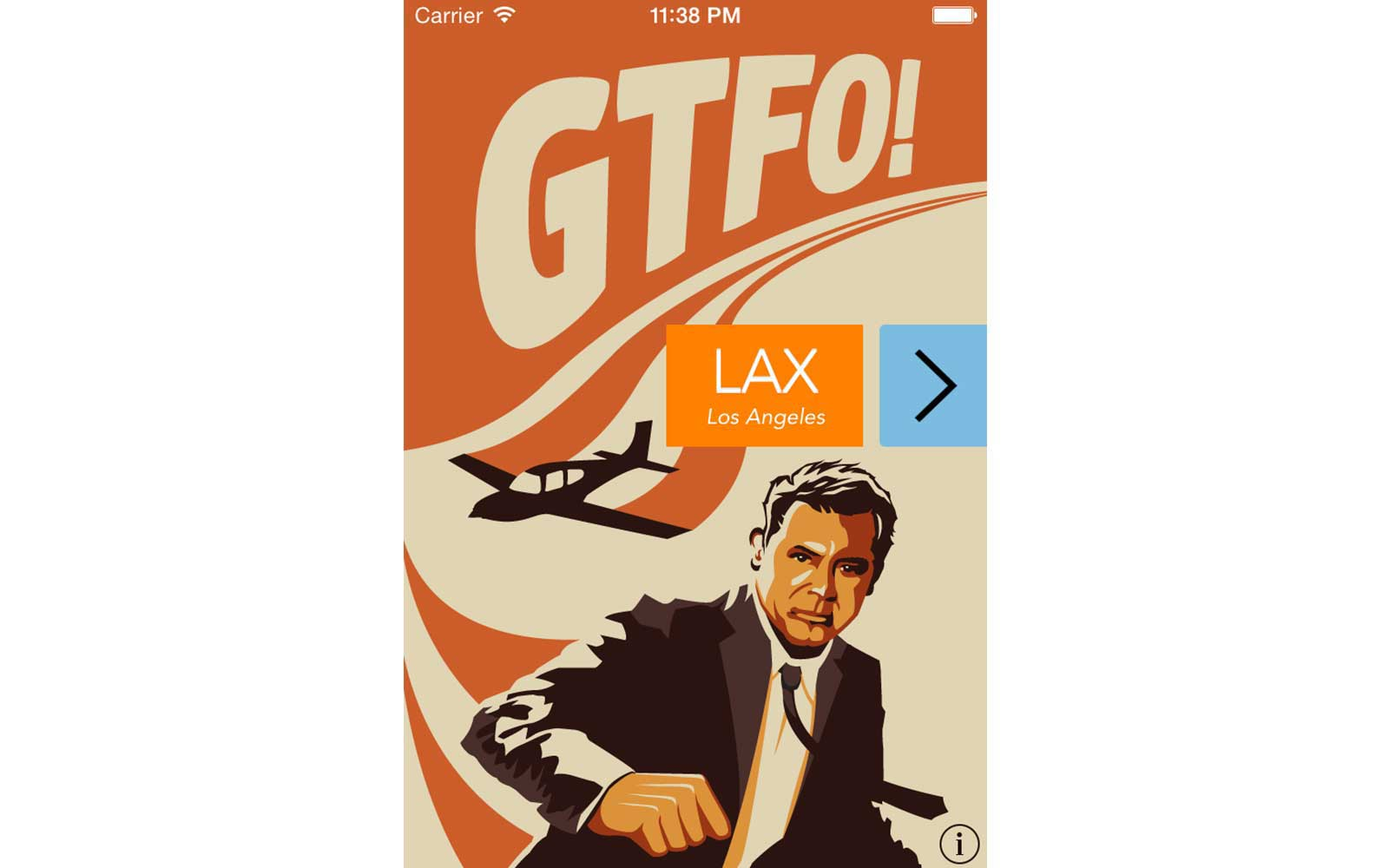 GTFO App from Hopper