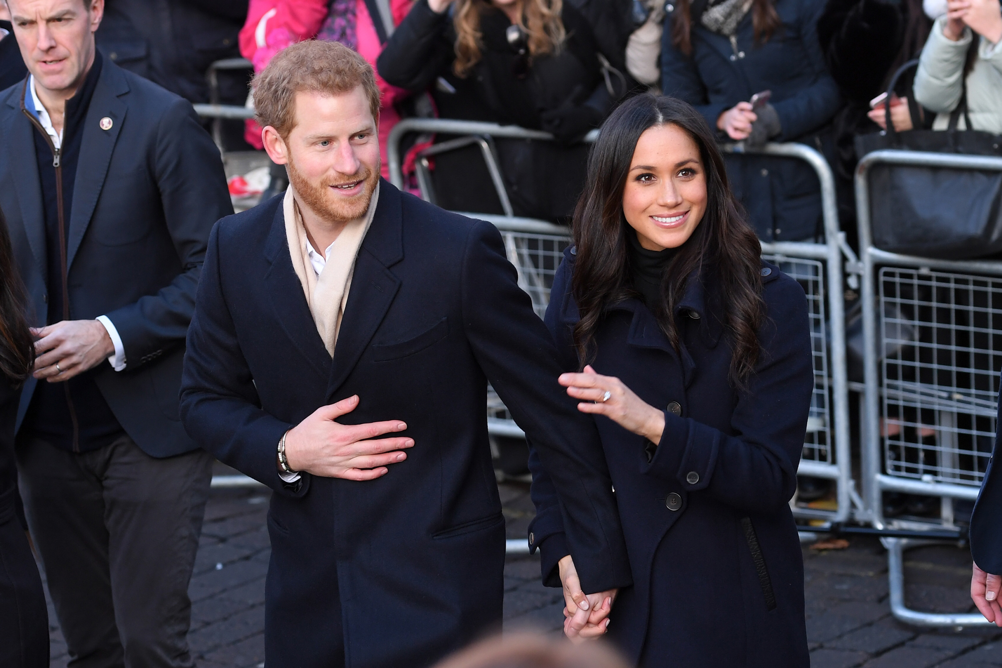 Prince Harry and Meghan Markle Make Their First RoyalAppearance in Nottingham