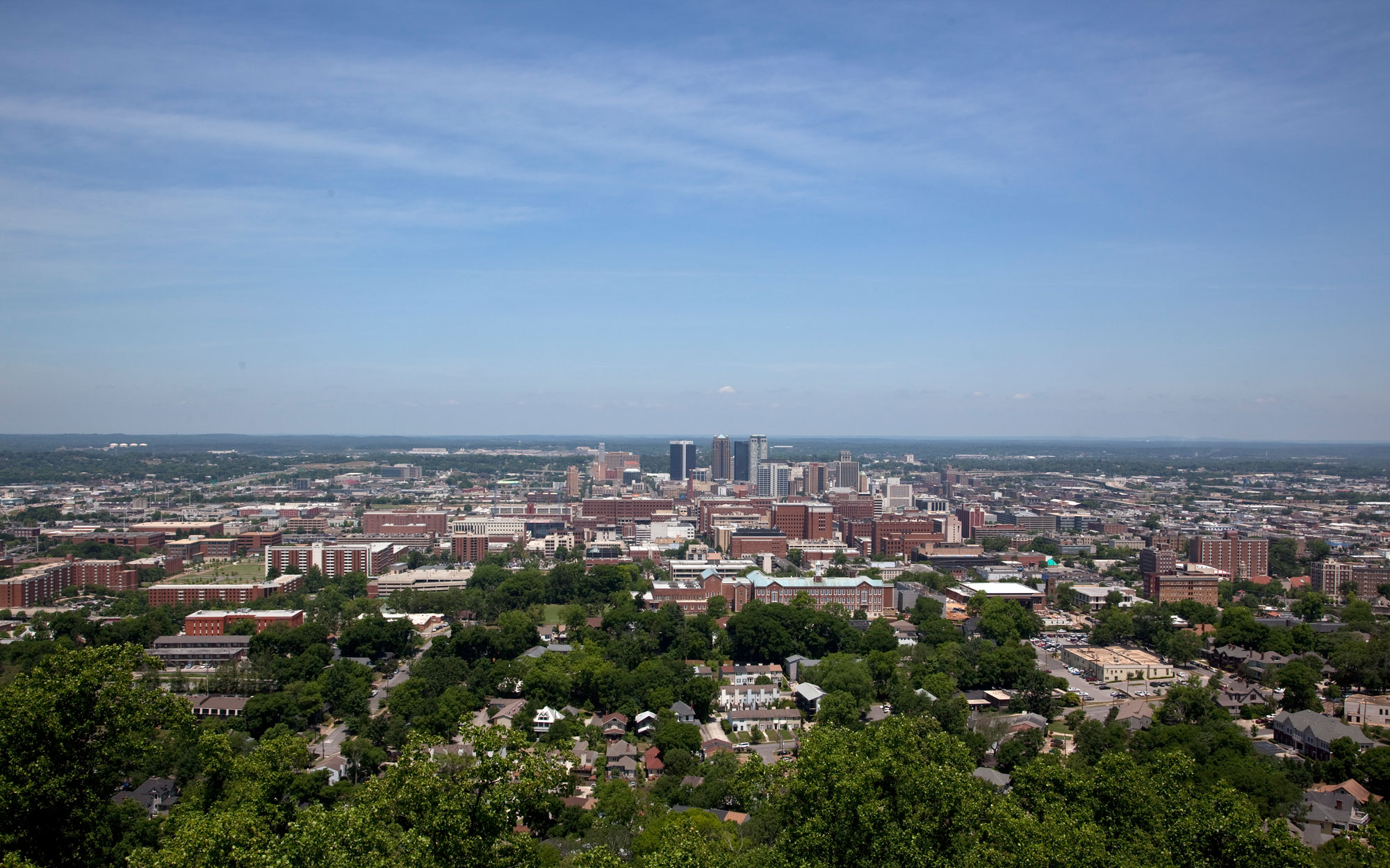 Alabama from the Vulcan Statue