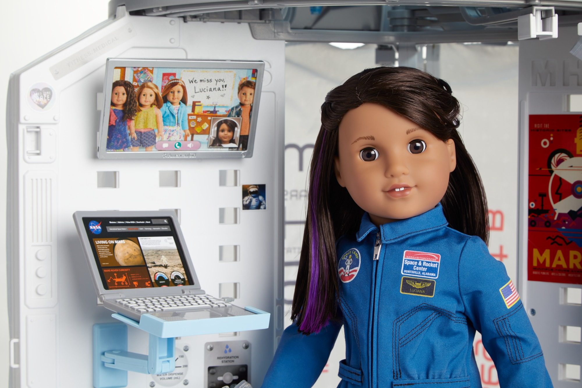 American Girl Doll Space Scene